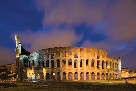 Colosseum-ul, simbolul Romei antice