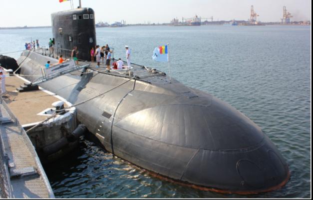 Delfinul – singurul submarin românesc