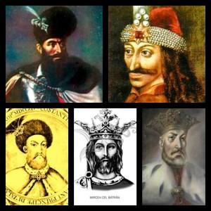 domnitori tara romanesca