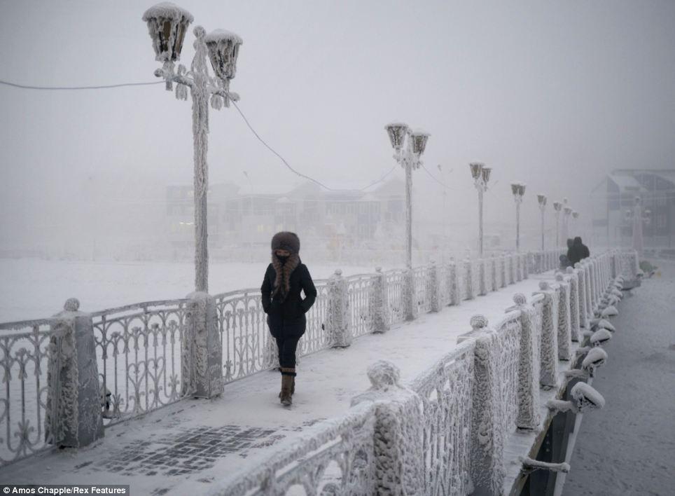 Oimiakon, Siberia – Viața la minus 70 de grade Celsius