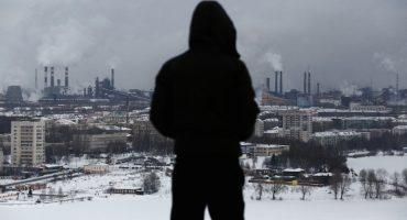 """Poluare, închisori, boli si destrăbălare: """"Orașul Cerului Colorat"""" din Rusia"""