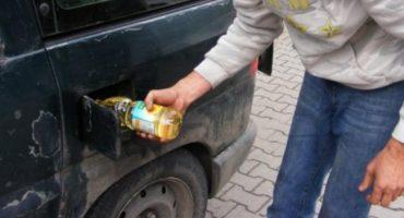 Românii își alimentează mașinile cu ulei alimentar