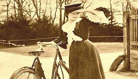 Povestea Miței Biciclista, cucoana care sucea mințile bărbaților bogați