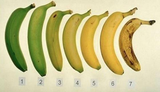 Ghicește care banană este mai bună – Crudă sau coaptă?