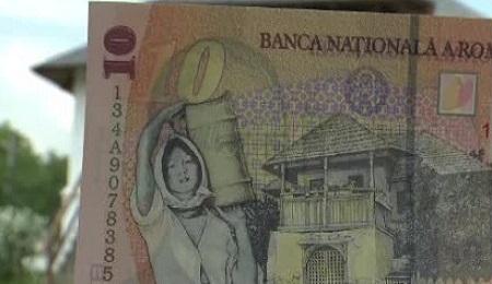 Cum arată în realitate casa de pe bancnota de 10 lei