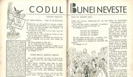 Sfaturi românești din 1934 pentru neveste