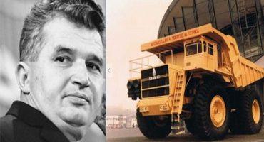 """Supercamionul lui Ceaușescu. """"Când îl vedeau, oamenii îşi făceau cruce"""""""