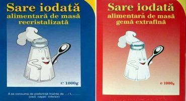 De ce se pune iod în sare