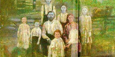 Anomalie! Această familie are pielea albastră
