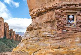 Fotografii incredibile cu bisericile de piatră din Etiopia