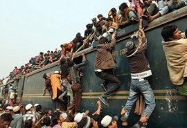 14 imagini incredibile din Bangladesh. Ce înseamnă ora de vârf într-o țară suprapopulată