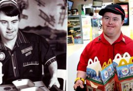 Povestea bărbatului cu sindromul Down care a fost angajat timp de 32 de ani la McDonald's
