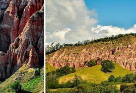 Micul Canion al României - Rezervaţia Naturală Râpa Roşie