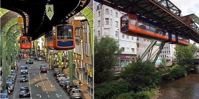 Wuppertal - Orașul din Germania cu trenuri suspendate