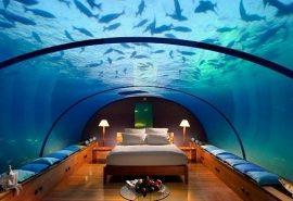 Incredibilul hotel subacvatic din Maldive