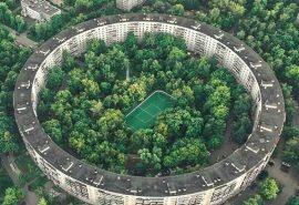 Blocurile circulare din Moscova