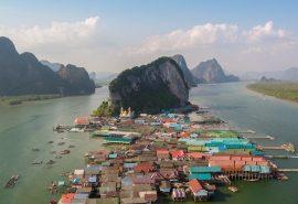 Ko Panyi - satul plutitor din Thailanda