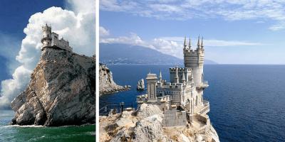 Castelul cocoțat pe stâncă - rivalul Peleșului din Europa de Est