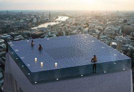 Incredibila piscină infinity care se va construi în Londra