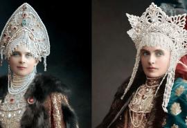 Ce costume purtau membrii familiei imperiale ruse la un bal din anul 1903!