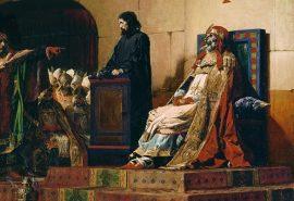 În anul 897, cadavrul unui papă a fost exhumat pentru ... a fi judecat