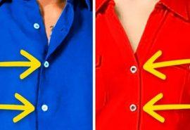 De ce hainele pentru femei au nasturii pe partea stângă?