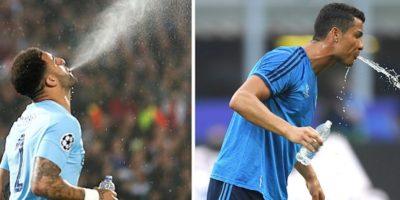 De ce fotbaliștii nu înghit apa în timpul meciurilor?