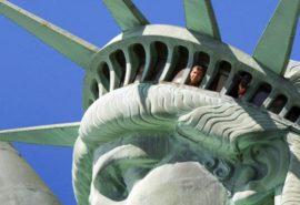 Cum arată Statuia Libertății înăuntru?