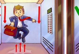 Este posibil să supraviețuiești dacă sari atunci când cade liftul?