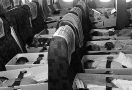 Avioanele pline cu bebeluși pentru adopție