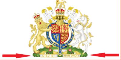 De ce pe stema Marii Britanii scrie în limba franceză?
