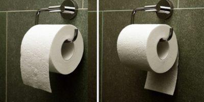Cum se agață corect hârtia igienică: brevetul din 1891 pune capăt acestei dispute