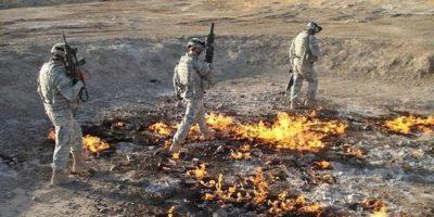 Flacăra eternă din Irak care arde de peste 4000 de ani