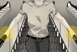 De ce balustrada merge mai repede ca scara rulantă?