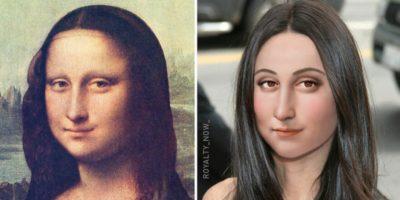 Cum ar arăta Mona Lisa, Napoleon sau Cezar dacă ar trăi în vremurile noastre