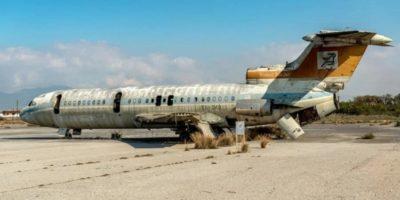 Cum arată un aeroport abandonat acum aproape 50 de ani?