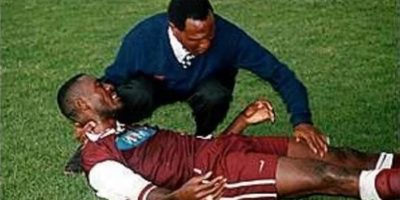 Un fulger a ucis 11 oameni la un meci de fotbal din Congo