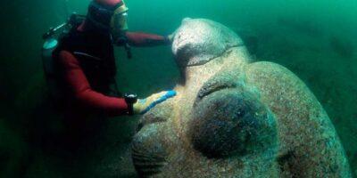 Palatul scufundat al Cleopatrei, ultima regină a Egiptului
