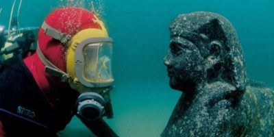 Impresionantul palat scufundat al Cleopatrei, ultima regină a Egiptului