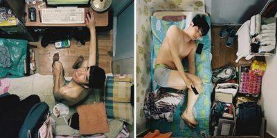 """Cum locuiesc oamenii în apartamentele de """"2 metri pătrați"""" din China"""