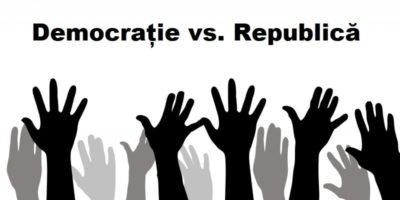 Care este diferența dintre Democrație și Republică?