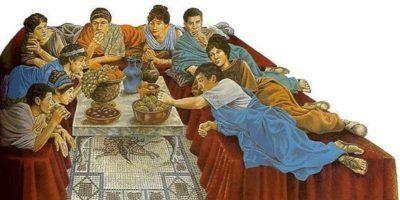 De ce oamenii din Roma antică mâncau culcați?