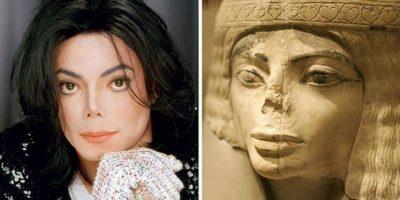 O statuie de 3000 de ani din Egiptul antic seamănă cu Michael Jackson