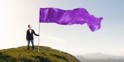 De ce nicio țară din lume nu are culoarea mov pe steag?