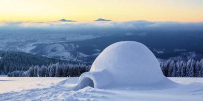 De ce este atât de cald într-un iglu de zăpadă?