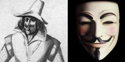 Povestea lui Guy Fawkes, adevăratul Anonymous care a vrut să arunce în aer Parlamentul Britanic