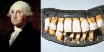 Este adevărat că George Washington avea dinți de lemn?