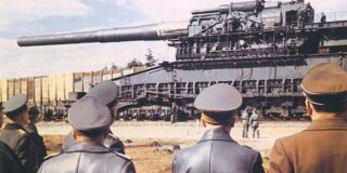 Marele Gustav, tunul lui Hitler care lovea ținte aflate la 47 de km distanță