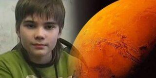 Băiatul super-inteligent care susține că a trăit pe Marte într-o viață anterioară