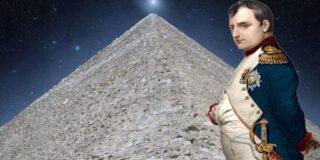 Napoleon a dormit o noapte în Marea Piramidă din Giza și a plecat îngrozit